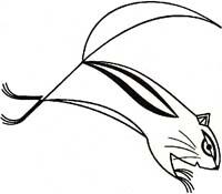 Chipmunk | Charley Harper | Original Artwork