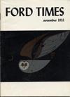 Ford Times | November 1955 | Charley Harper Prints | For Sale