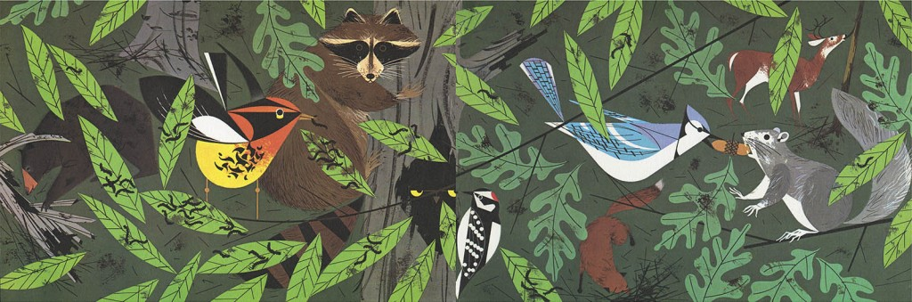 Golden Book of Biology | Woodland | Charley Harper Prints | For Sale