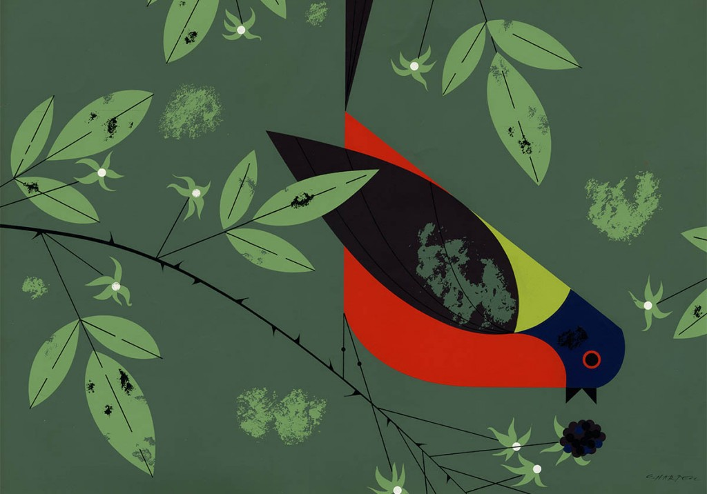 Painted Bunting | Charley Harper Prints | For Sale