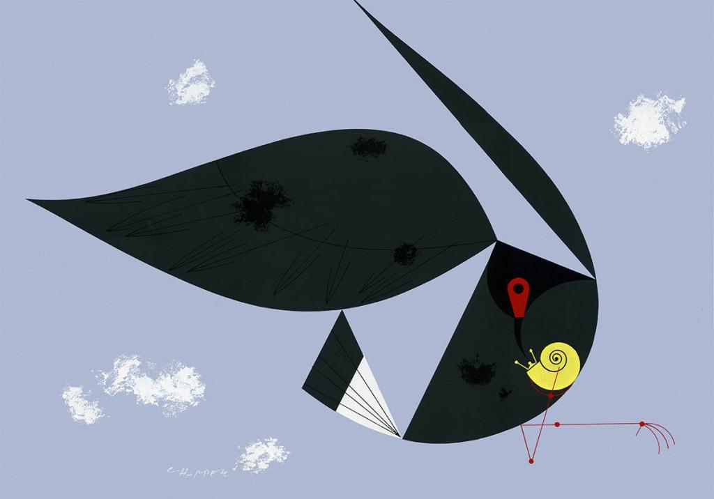 Everglades Snail Kite   Charley Harper Prints   For Sale