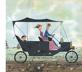 Tin Lizzie: The Story of the Fabulous Model T Ford | Charley Harper Prints | For Sale