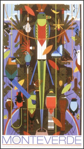 Monteverde | Charley Harper Prints | For Sale