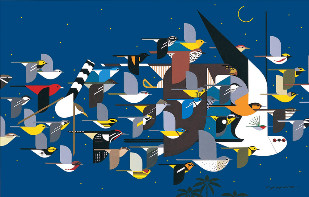 Mystery of the Missing Migrants | Charley Harper Prints
